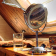 Makeup Mirror in a Study — Stockfoto