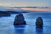 The Twelve Apostles along the Shipwreck coast, Australia — Stock Photo