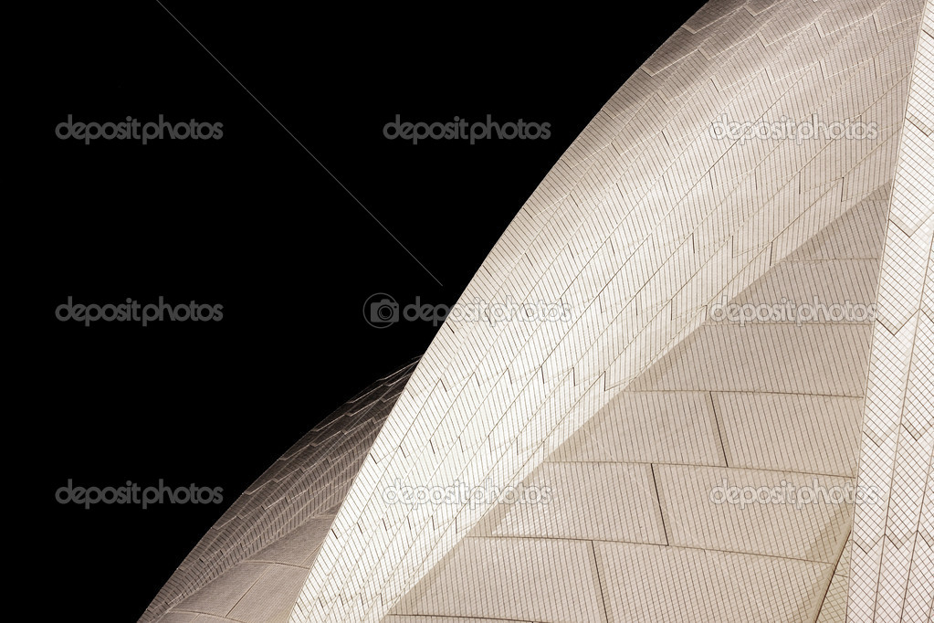 Sydney Opera House in night light — Stock Photo #3369664
