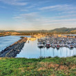 View onto Coffs Harbour - Stock Photo