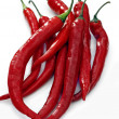 Red hot chilli peppers — Stock Photo