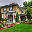 Victorian cottage - Stock Photo