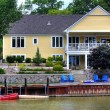River house — Stock Photo