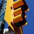 Yellow street light - Stock Photo