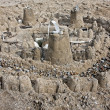 Sand castle - Stock Photo