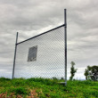 Stock Photo: Solitary Fence