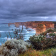 Stock Photo: Coastal cliff landscape