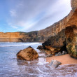 Coastal cliff landscape — Stock Photo