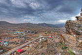 Ulaanbaatar, capital of Mongolia — Stock Photo