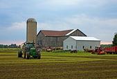 Çiftlik evi — Stok fotoğraf