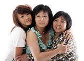 Three sisters having fun — Stock Photo