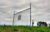 Solitary Fence — Stock Photo