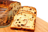 Raisin Bread And Cinnamon — Stock Photo