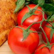 Royalty-Free Stock Photo: Tomatoes And Old Style Bread