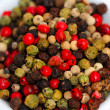 Stock Photo: Gourmet Rainbow Peppercorns
