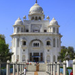 The Gurdwara Rakab Ganj Sahib - Stock Photo