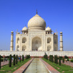 The Taj Mahal — Stock Photo