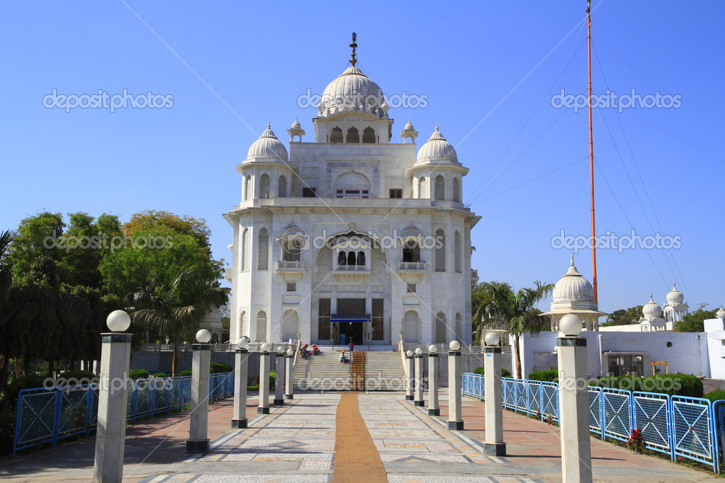 The Gurdwara Rakab Ganj Sahib in Delhi, India — Stok fotoğraf #2935003