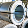 Rolls of steel sheet — Stock Photo #3456855