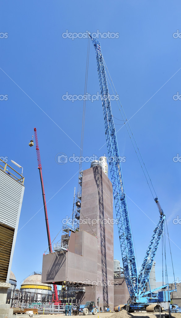 Giant crane  Stock Photo #3465057