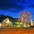 Stock Photo: Ferris wheel in summer night
