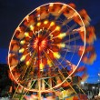 Ferris wheel in a summer night - Stock Photo