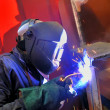Royalty-Free Stock Photo: Welding with mig-mag method