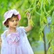 Beautiful little princess — Stock Photo