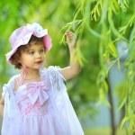 Beautiful little princess — Stock Photo