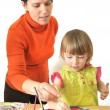 Activity in preschool — Stock Photo #3792973