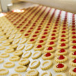 Production cookie in factory — Stock Photo #3831525