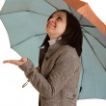 Woman with umbrella — Stock Photo #2729516