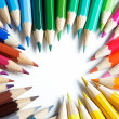 Colorful pencils - Foto Stock