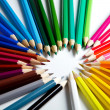 Colorful pencils — Foto Stock