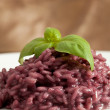 Risotto with Red wine — Stock Photo #3140641