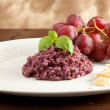 Stock Photo: Risotto with Red wine