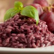Risotto with Red wine — Stock Photo #3140771