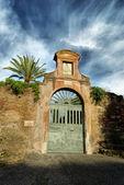 Ancient ruin at Palatino — Stock Photo