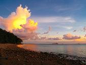 Darwin Shore Sunset — Stock Photo