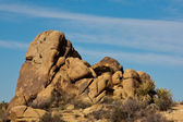 Rock Formations in the Mojave Desert — Stock Photo