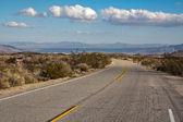 Road in Joshua Tree National Park — Stock Photo