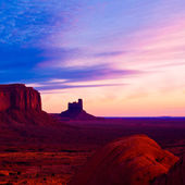 Dawn at Monument Valley — Stock Photo