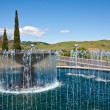 Stock Photo: Water Fountain at NapValley Winery