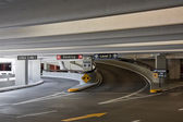 Covered Parking at the SFO Airport — Stock Photo
