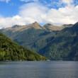 Doubtful Sound Landscape — Stock Photo