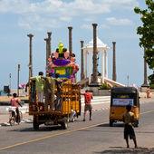 Ganesha festival i pondicherry — Stockfoto