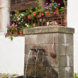 Water Fountain at Rila Monastery — Stock Photo