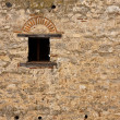 Medieval Castle Window — Stock Photo