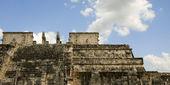 руины майя в чичен-ица — Стоковое фото