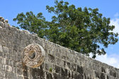 Mayan Game Field Detail at Chichen Itza — Stock Photo